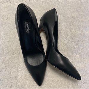 NWOB Charles David Class Black Pumps Heels